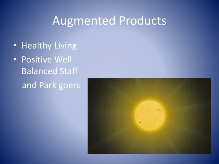 Augmented Products
