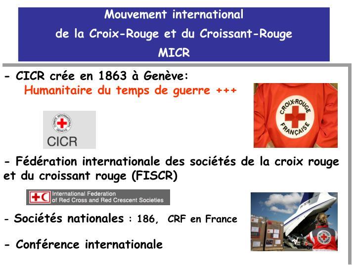 Mouvement international