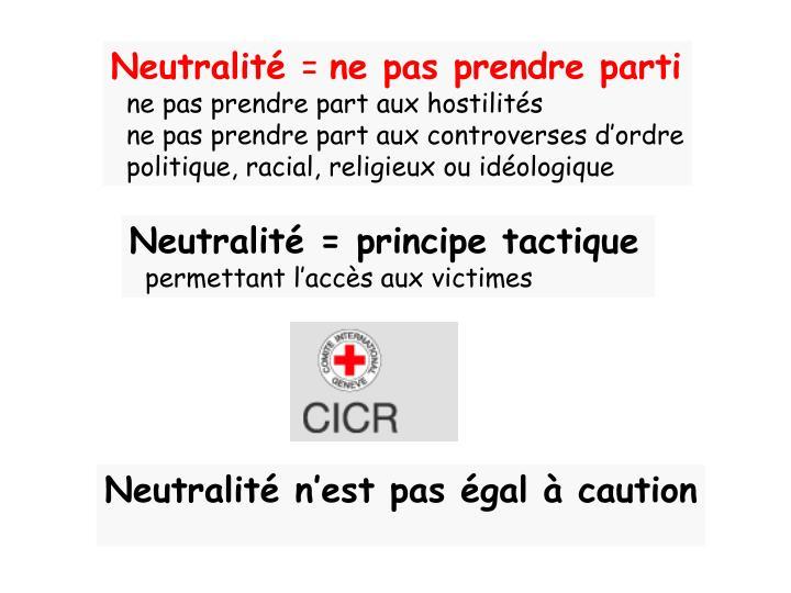 Neutralité