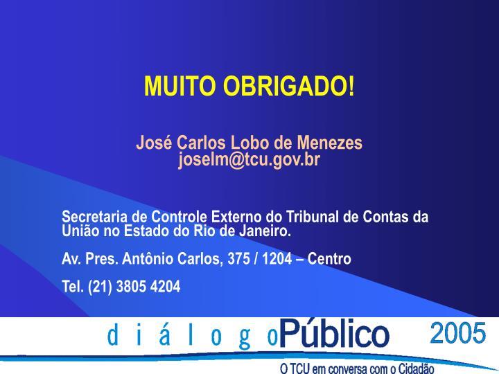José Carlos Lobo de Menezes