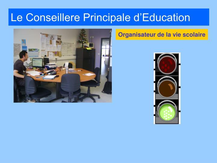 Le Conseillere Principale d'Education