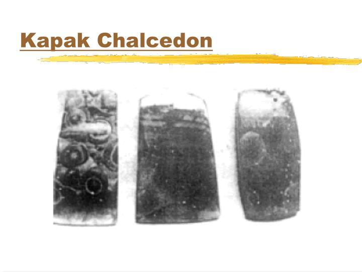 Kapak Chalcedon