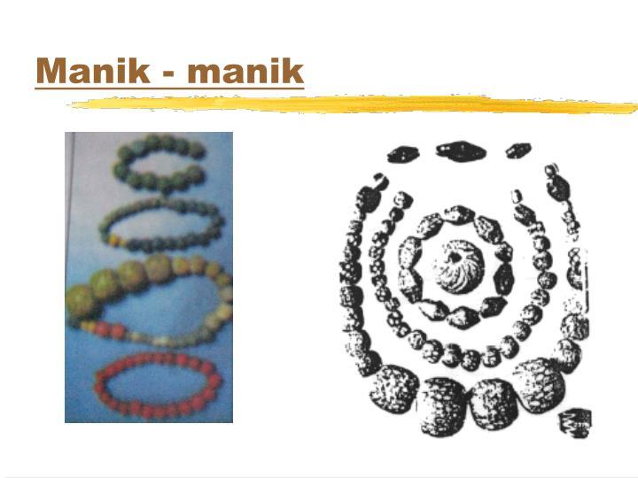 Manik - manik