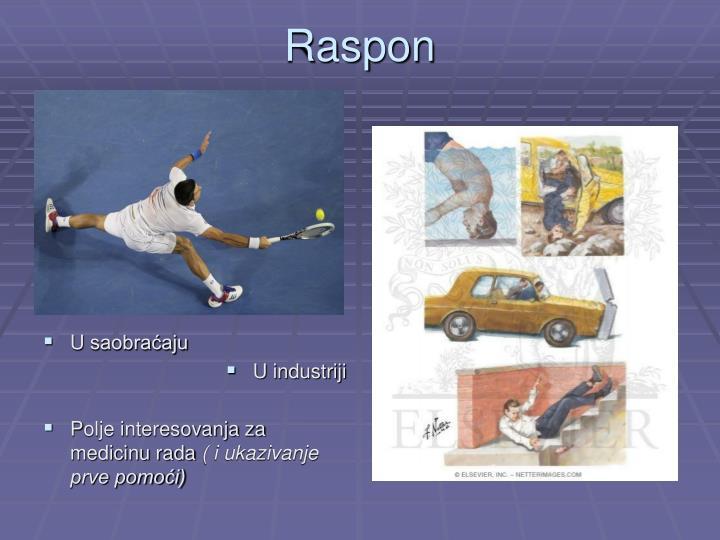Raspon