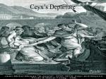 ceyx s departure