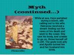 myth continued