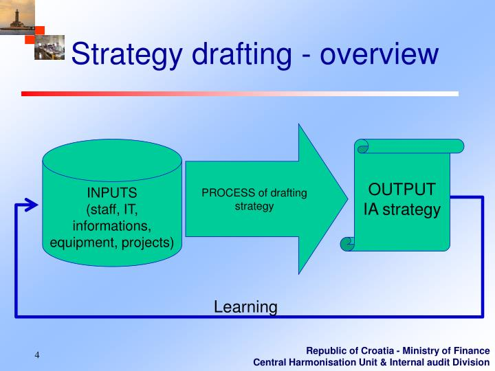 Strategy drafting - o