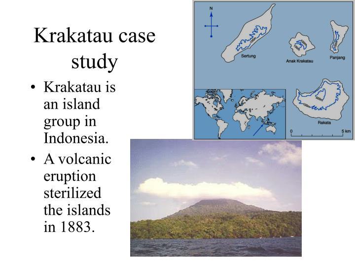 Krakatau case study