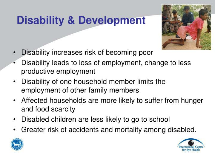 Disability & Development