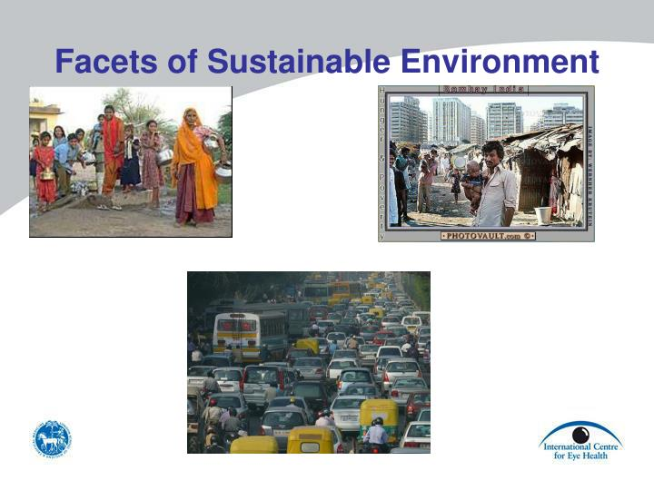 Facets of Sustainable Environment