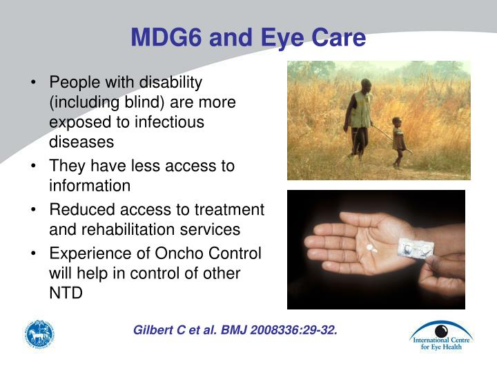 MDG6 and Eye Care