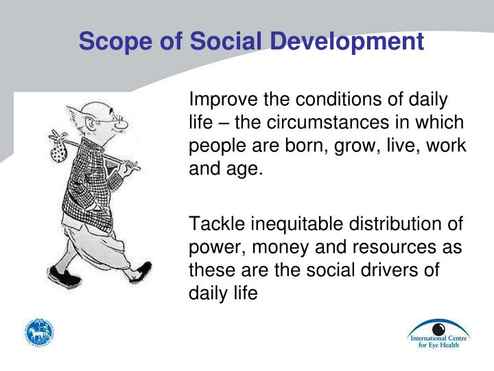 Scope of Social Development