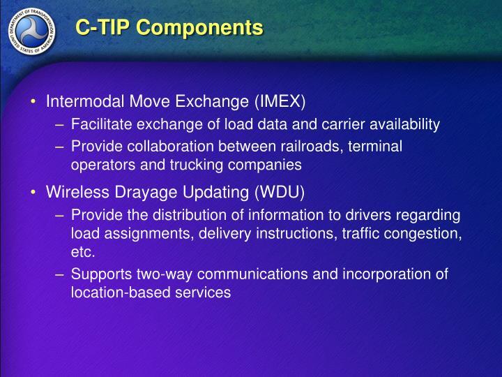 C-TIP Components