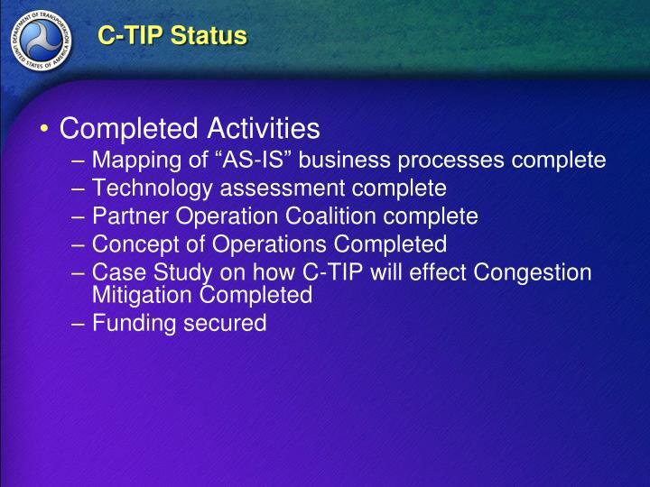 C-TIP Status