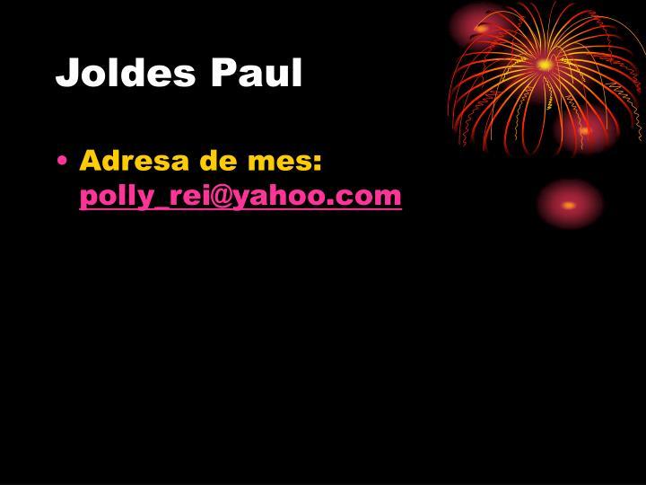 Joldes Paul