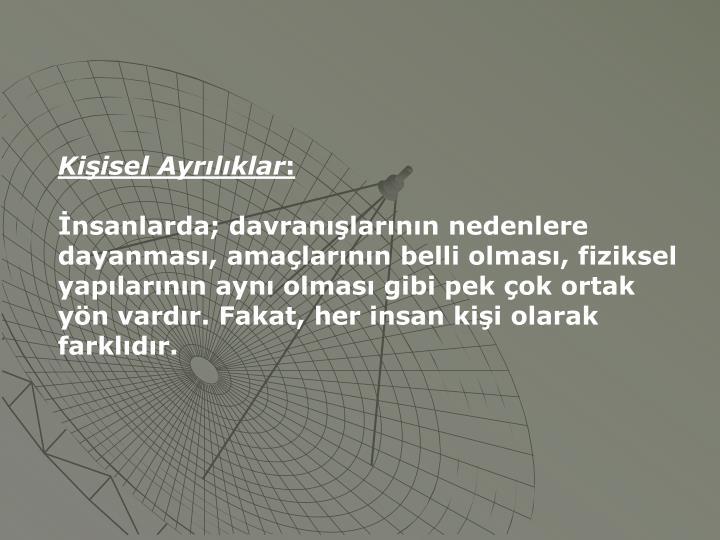 Kiisel Ayrlklar