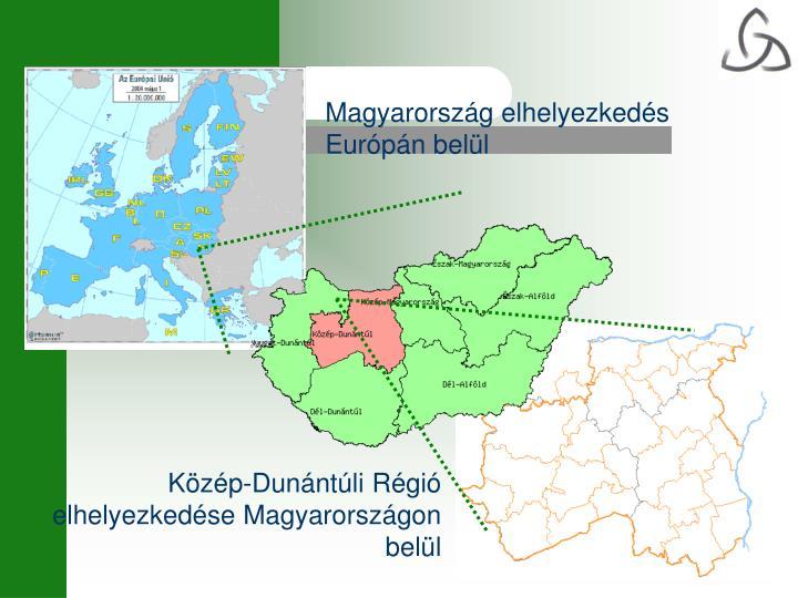 Magyarország elhelyezkedés Európán belül