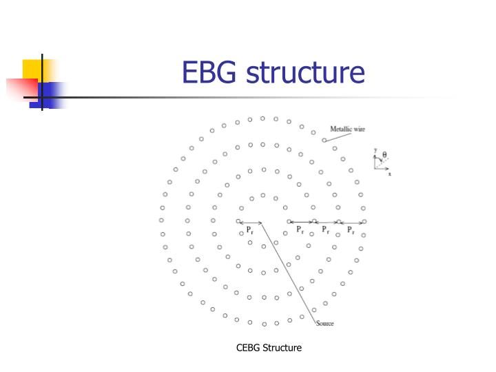 Ebg structure