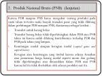 2 produk nasional bruto pnb lanjutan