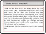 2 produk nasional bruto pnb