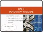 bab 7 pendapatan nasional
