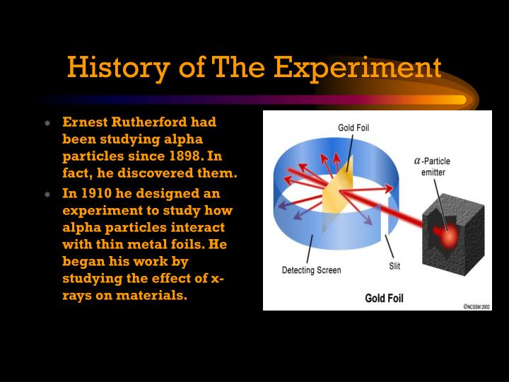 History of The Experiment