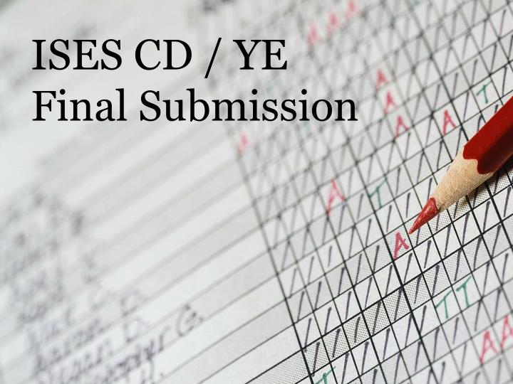 ISES CD / YE