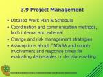3 9 project management