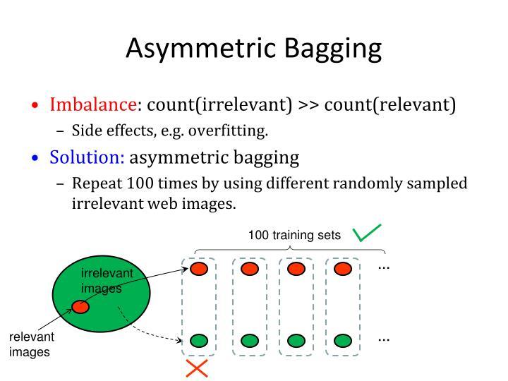 Asymmetric Bagging