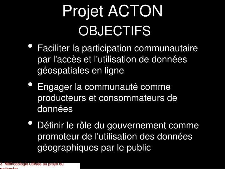 Projet ACTON