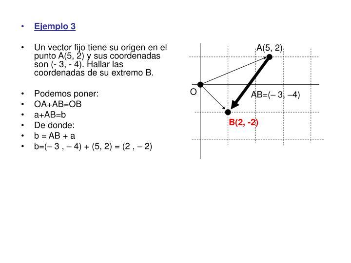 A(5, 2)