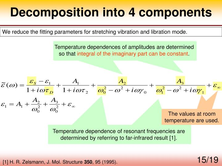 Decomposition into 4 components
