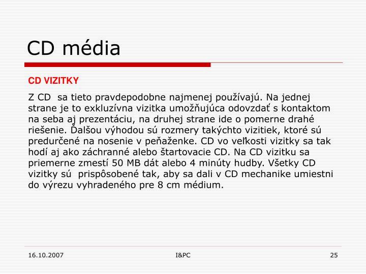 CD média