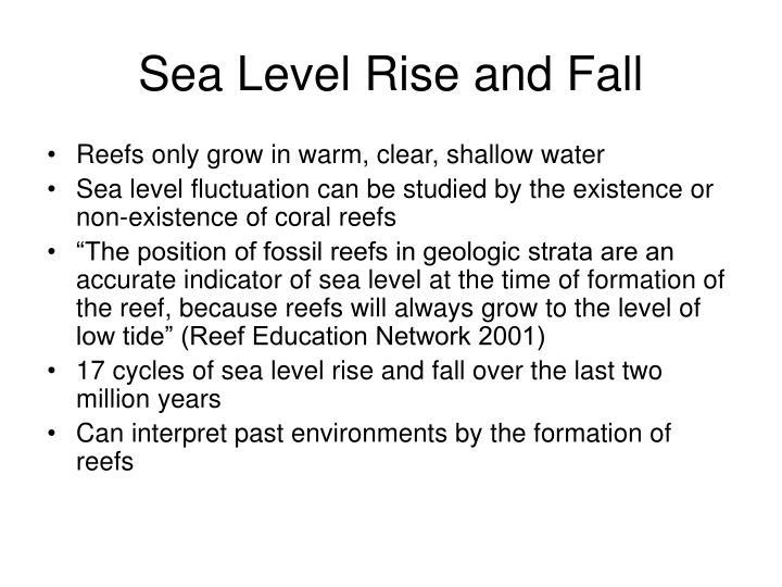 Sea Level Rise and Fall