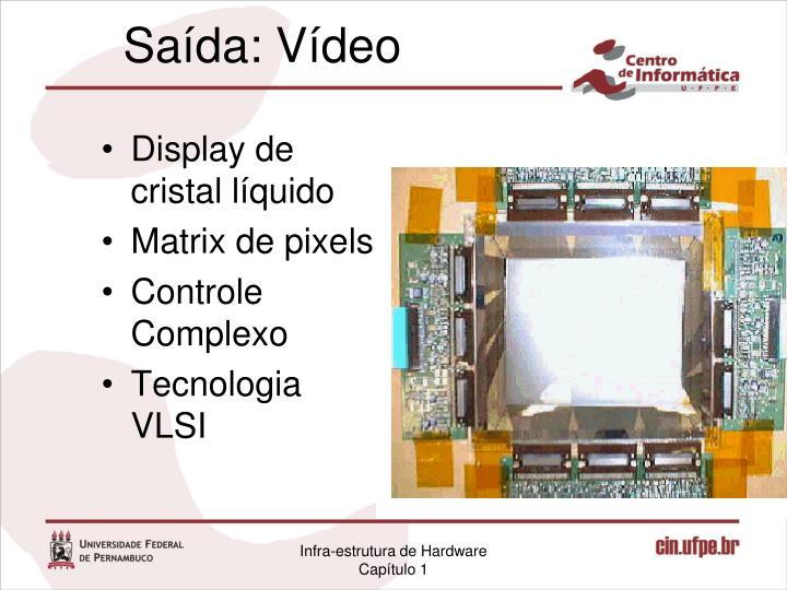 Display de cristal líquido