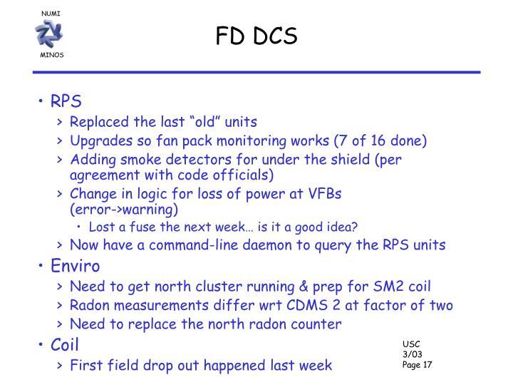 FD DCS