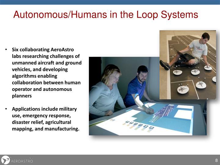 Autonomous/Humans