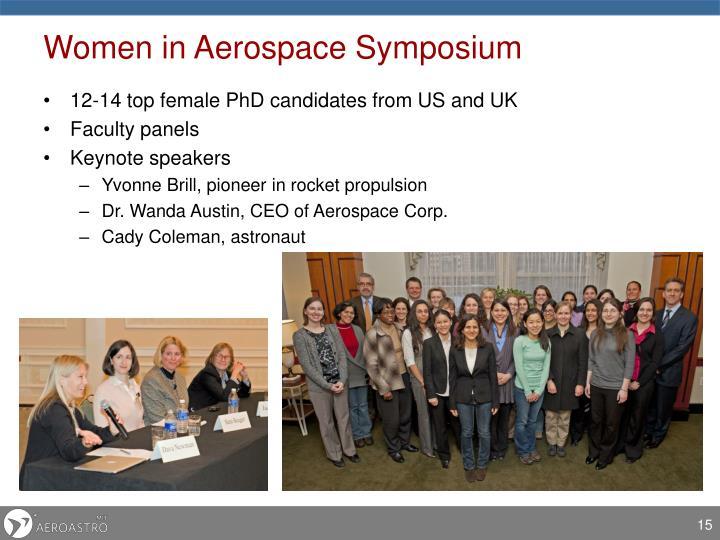 Women in Aerospace Symposium