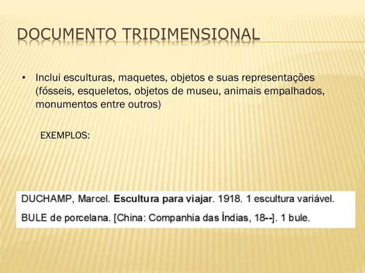 DOCUMENTO TRIDIMENSIONAL