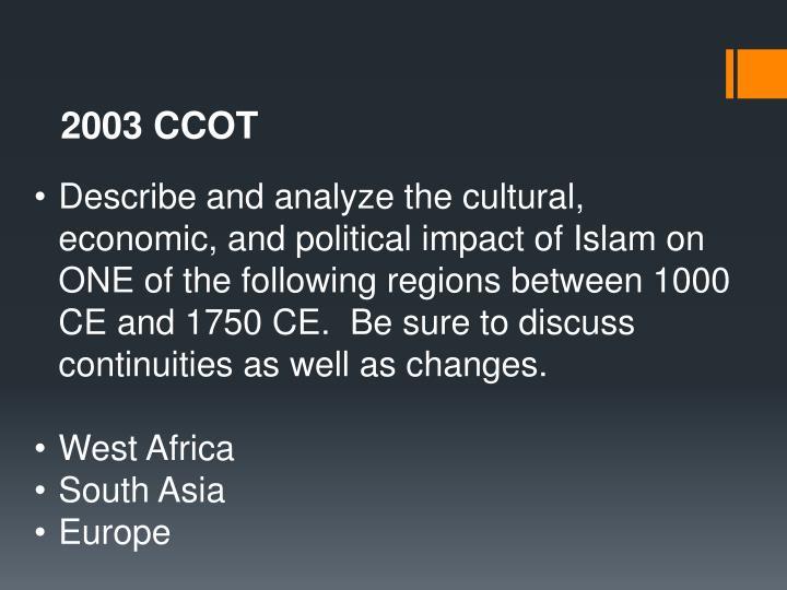 2003 CCOT
