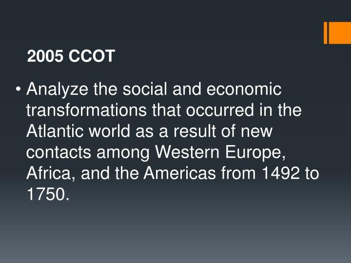 2005 CCOT