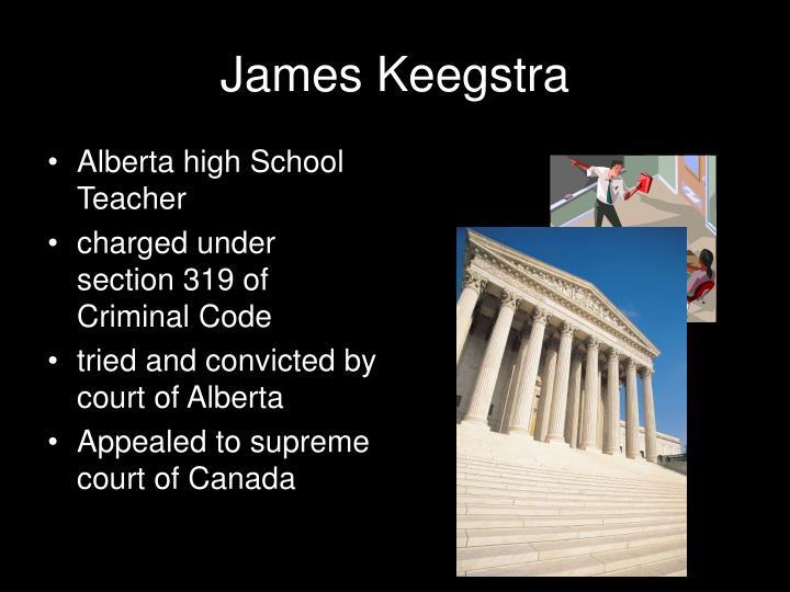 James Keegstra