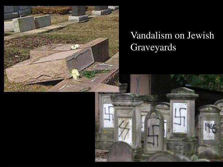 Vandalism on Jewish Graveyards