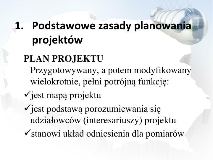 Podstawowe zasady planowania projektów