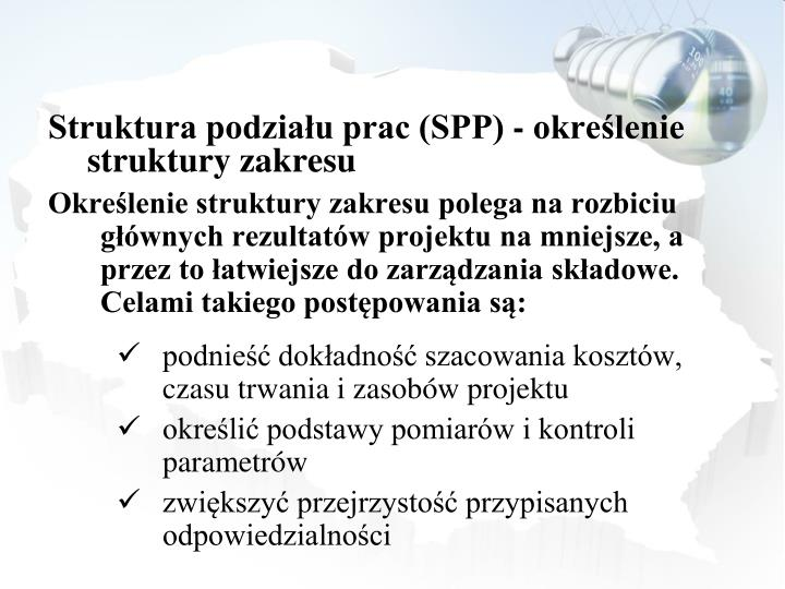 Struktura podziału prac (SPP) -