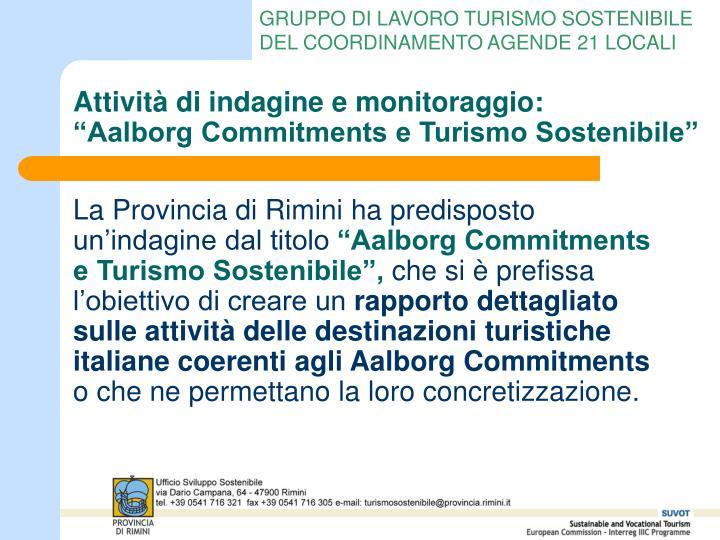 La Provincia di Rimini ha predisposto un'indagine dal titolo