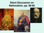 silent discussion on nationalism pp 89 90