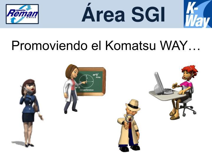 Área SGI