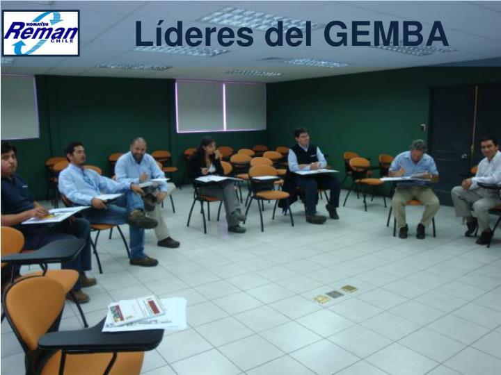Líderes del GEMBA