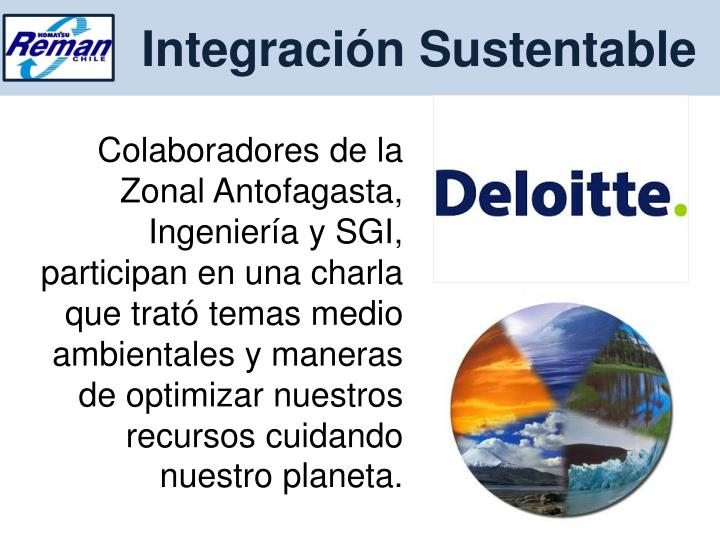 Integración Sustentable